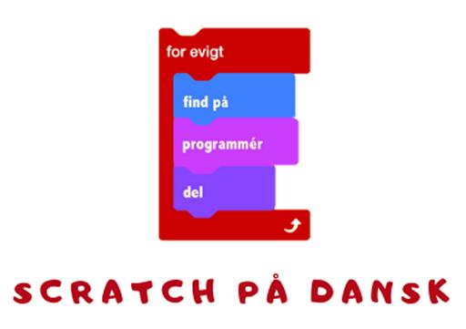 Logo for Scratch på dansk
