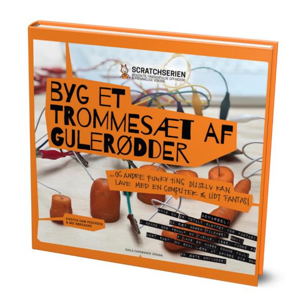 Bogen Byg et trommesæt af gulerødder