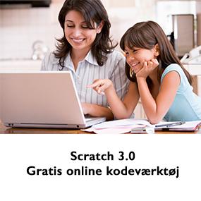 Læs mere om Scratch 3.0 - et gratis online kodeværktøj