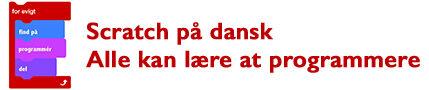 Scratch på dansk