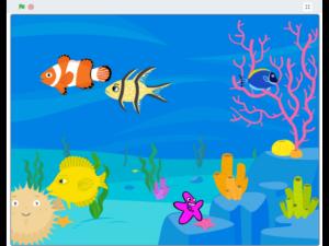 Kod et digitalt akvarium