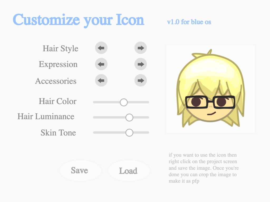 Eksempel på et ikon